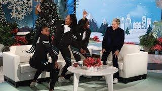 Download Ellen Meets the Amazing Nigerian Bobsled Team Video