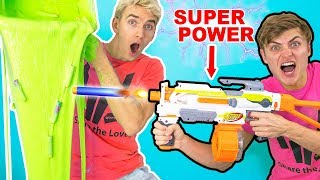 Download NERF GUN VS SLIME!! (SUPER POWER NERF GUNS) Video