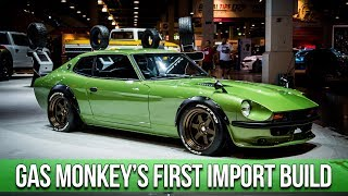 Download Gas Monkey Garage Builds a Japanese Import: In-Depth Look into the 1975 Datsun 280Z with Big Mike Video