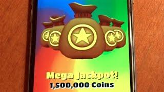 Download Super Mega Jackpot on Subway Surfers! Woo! Video