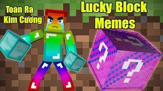 Download Noob Đập 101 Lucky Block Memes ** Noob Chán Kim Cương Rồi Cho Noob Đồ Đi Video