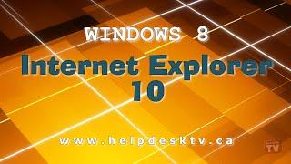 Download Windows 8 Developer Preview: Internet Explorer 10 (IE10) Video