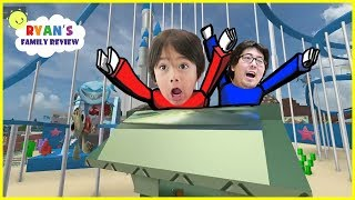 Download ROBLOX Visit Disney Land in Roblox! Let's Play with Ryan's Family Review! Video