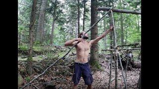 Download 10 jours en foret construction d'une cabane Video