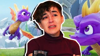 Download CRYING OVER MY CHILDHOOD HERO! Spyro Reignited Trilogy PS4 (Reaction) Video