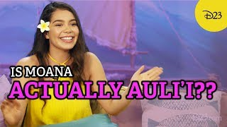 Download See How Auli'i Cravalho Influenced Moana! Video