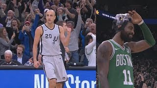 Download Manu Ginobili Game Winner 40 Years Old vs Celtics! 2017-18 Season Video