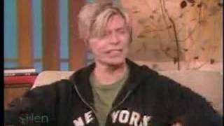 Download Bowie interviewed by Ellen DeGeneres Video