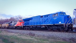 Download Must See!! Maybe The Third Best Train Lashup Ever Video