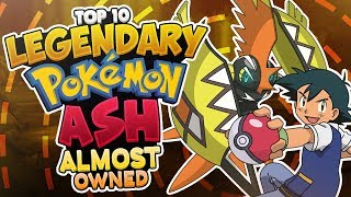 Download Top 10 LEGENDARY Pokémon Ash Ketchum Almost Owned Video