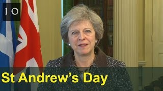 Download St Andrew's Day 2016: Theresa May's message Video