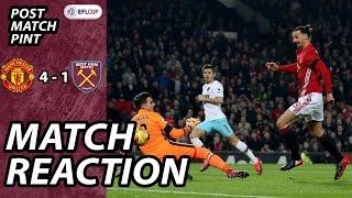 Download Man United 4 West Ham 1 | Post Match Pint Video