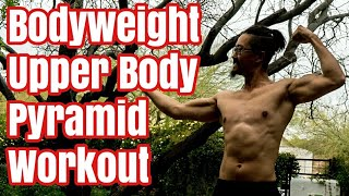 Download Trail Bodyweight Workout #2 Pyramid Ring Pushups, Pullups, Squats using Monkii Bars Video