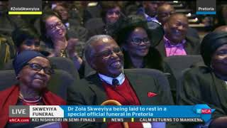 Download President Ramaphosa delivers eulogy at Zola Skweyiya funeral Video