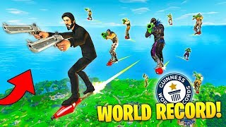 Download WORLD RECORD ROCKET RIDE! - Fortnite Fails & Epic Wins #10 (Fortnite Funny Moments Compilation) Video