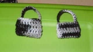 Download Cómo hacer una bolsita miniatura tejida a ganchillo. Video