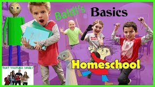 Download Baldi's Basics In Education And Learning In Real Life HOMESCHOOL / That YouTub3 Family Video