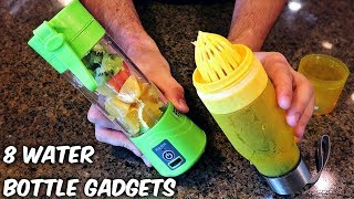 Download 8 Water Bottle Gadgets from GearBest Video