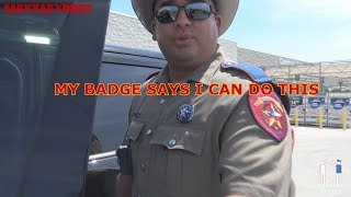 Download MY BADGE SAYS I CAN DO THIS - TX DPS TROOPER Video