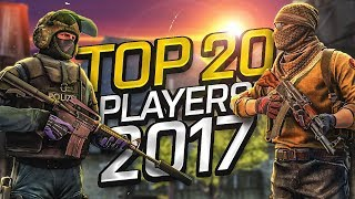 Download CS:GO - Top 20 Players of 2017 (Fragmovie) Video