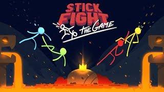 Download STICK FIGHT *NEW LAVA UPDATE* BOYFRIEND vs GIRLFRIEND! (Stick Fight: The Game) Video