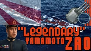 Download ZAO with Yamamoto and special upgrade 7.6.0 || World of Warships Video