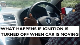 Download What Happens If Ignition is Switched Off While the Car is in Motion Video