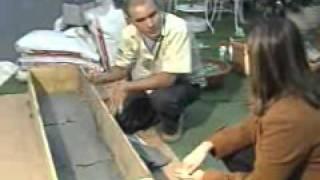 Download Agrônomo ensina a cultivar jardim de hortaliças dentro de casa. Video