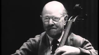 Download Pau (Pablo) Casals Master Class: Haydn D Major Concerto 1st movement Video