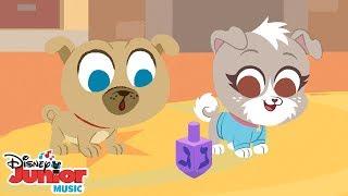Download Dreidel, Dreidel, Dreidel | 🎶 Disney Junior Music Nursery Rhymes | Disney Junior Video