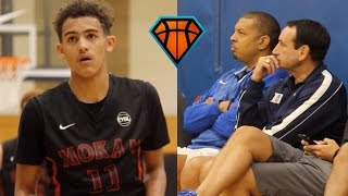 Download Trae Young LIGHTS UP Peach Jam In Front Of Coach K!! | OFFICIAL Mixtape Vol. 1 Video