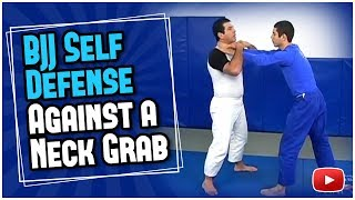 Download Brazilian Jiu Jitsu Self Defense Against a Neck Grab Master Marcus Vinicius Di Lucia Video