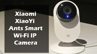 Download Xiaomi Smart Ants Wi-Fi Camera Review, Setup and Sample Footage Video