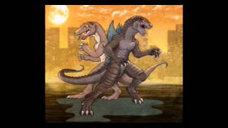 Download Godzilla (USA-Godzilla, Zilla Jr., Toonzilla) and Komodithrax (Bride Godzilla / Zilla Jr) tribute. Video