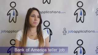 Download Bank of America Interview - Teller Video