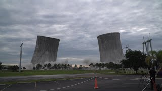 Download Florida Cooling Towers Simultaneously Imploded Video