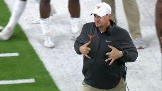 Download Texas coach, players caught mocking Missouri QB Drew Lock's touchdown celebration | College Football Video
