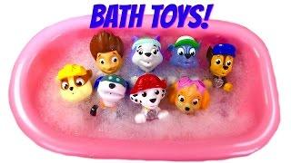 Download Paw Patrol Bath Toy Video for Children - Paw Patrol Wash a Dirty Dog Video