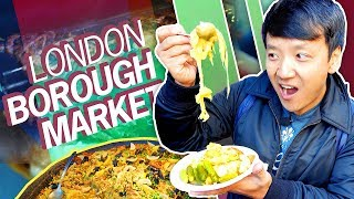 Download 1,000 YEAR OLD FOOD MARKET! British Food Tour of Borough Market in LONDON Video