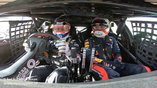 Download Max Verstappen joins JDub for a lap around Melbourne in an Australia Supercar Video
