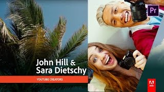Download How to edit and publish videos for your YouTube vlog with John Hill and Sara Dietschy 1/3 Video