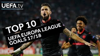 Download Top ten goals of the UEFA Europa League season Video