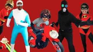 Download Disney Pixar INCREDIBLES 2 Halloween Costumes Toys and Elasticycle Video