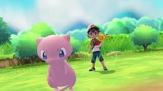 Download Mew Pokeball Plus Announcement for Pokemon Let's Go Pikachu & Eevee - E3 2018 Video