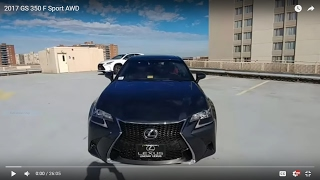 Download 2017 Lexus GS 350 F Sport AWD Video