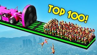 Download TOP 100 FUNNIEST GTA 5 FAILS EVER! (Funny Moments Grand Theft Auto V Compilation) Video