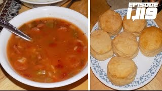 Download HAVING SOUP AND BISCUITS!!! - January 07,2017 (Day 1,119) Video