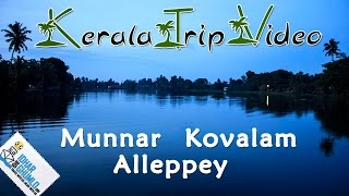 Download kerala Tourism video ″ Munnar, alleppey and Kovalam″ Video