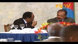 Download ERi-TV, Eritrea: State Dinner Held For Visiting Somalia President Mohamed Abdullahi Farmajo Video