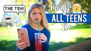 Download Things ALL TEENS DO! | Kalista Elaine Video